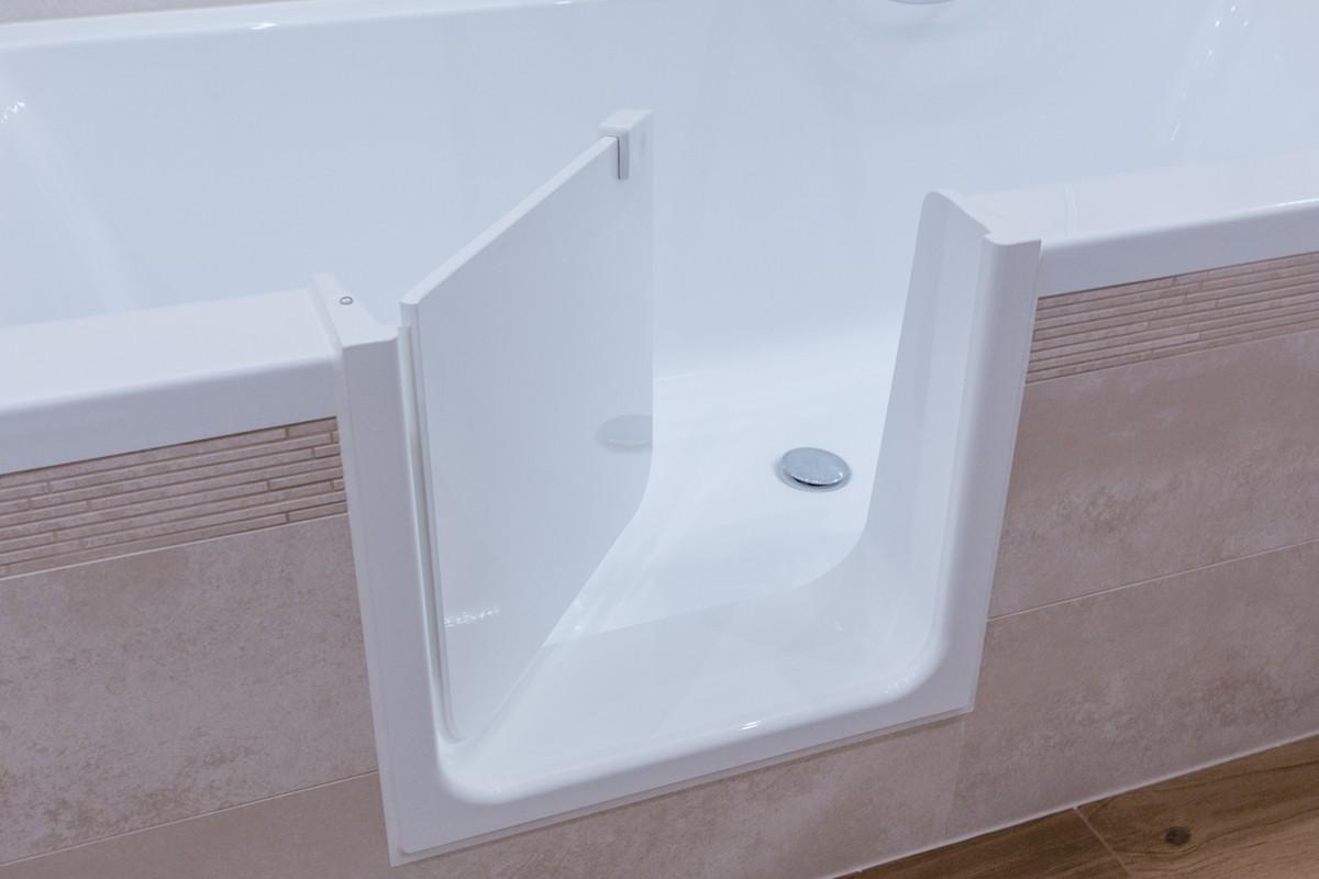 UDOOR - Bathtub door